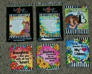Lot 6 NEW BMA Suzy Toronto Friends Mom Sis Purse Note Pad Mini Books & Magnets