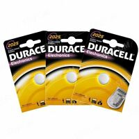 3 PILAS CR2025 / DL2025 DURACELL 3V LITIO DLC 2024