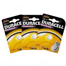 3 BATTERIA CR2025 / DL2025 DURACELL 3V LITIO DLC 2024
