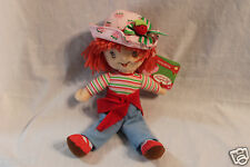 "NEW WITH TAG STRAWBERRY SHORTCAKE PLUSH 10"" DOLL"
