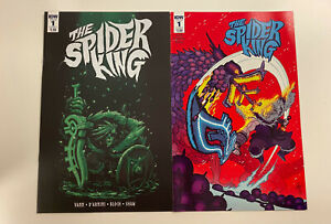 IDW: THE SPIDER KING: ISSUE #1: NM CONDITION: A & B COVERS