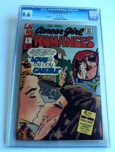 CAREER GIRL ROMANCES # 77 CGC 9.6 NM+ Charlton Bronze Comic Book HIGHEST GRADE