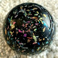 Marbles, Handmade, Contemporary Art Glass, Signed, Douglas Sweet, Confetti