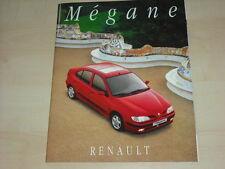 51677) Renault Megane Prospekt 11/1995