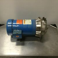 """G&L Pumps NPE 1ST1G5B4 Centrifugal Pump Impeller 5-3/4"""" In 1-1/4"""" Out 1"""" NPT 2HP"""