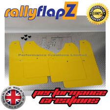 Rallyflapz Suzuki Ignis Sport 03-05 Barro Solapas mudflaps logotipo en rojo Negro 3 Mm De Pvc