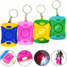 Personal Rape Attack Panic Emergence Safety Alarm Siren With LED Torch Light