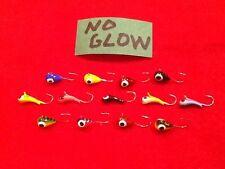 13 Tungsten Ice Jigs #12 Hook 5MM.