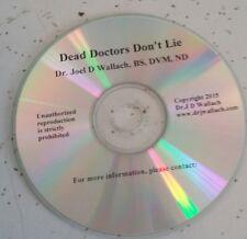 Dead Doctors Don't Lie Dr Wallach Audio CD