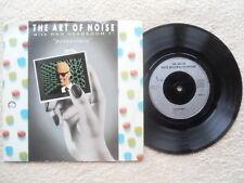 """THE ART OF NOISE WITH MAX HEADROOM  PARANOIMIA CHINA RECORDS 7"""" VINYL SINGLE P/S"""