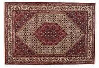 BIDJAR très bien 299 x 205 cm tapis d'Orient noué à la main laine / soie, NEUF