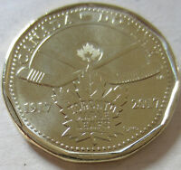 2017 Canada Connecting a Nation Loonie. UNC. One Dollar Coin.
