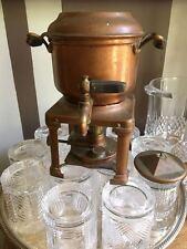ANTIQUE STERNAU & CO COFFEE MACHINE. COPPER. 1904 1908