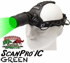 Wicked Lights ScanPro iC GREEN LED Night Hunting Headlamp for Coyotes Hogs W2026