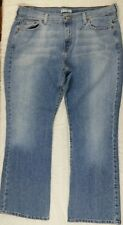 Women's Levis 515 Boot Cut 16S Short Red Tab Blue Jeans Measures 37 x 29