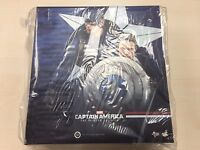 Hot Toys MMS 243 Captain America 2 Winter Soldier Stealth & Steve Rogers NEW