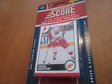 10/11  SCORE REDWINGS TEAM SET 14 CARDS SEALED PACK MINT