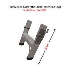 Rhino Aluminium Attic Ladder Extension Legs - Suits Model EAL-305