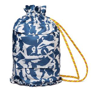 La Doublej Double J Mantero Printed Beach Bag Zaino Donne Made In Italy