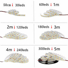 SMD 5050 RGB LED Strip Waterproof 5M 300LED DC 12V RGBW RGBWW  LED Light Strips