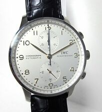 Preowned IWC Portuguese Chronograph Stainless Steel IW371445