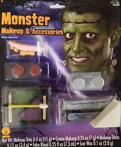 Rubie's Monster Makeup Set & Accessories Halloween Costume Fake Blood & Teeth