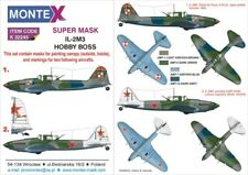 Montex Super Mask 1:32 IL-2 M-3 for Hobby Boss Kit Spraying Stencil #3 #K32245