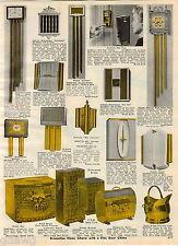1964 ADVERT Netone Rittenhouse Door Chime Bell Flexo Flexarm Lamp Litemaster