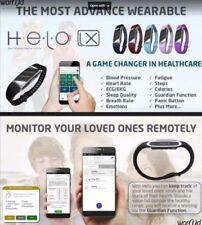 HELO LX Wrist Smartband Fitness Health Monitor Box Set with Germanium stones