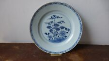 Antique chinese export porcelain plate. XVIIIth .Ancienne  Assiette Chine.....A