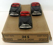 Véhicules miniatures Dinky pour Simca