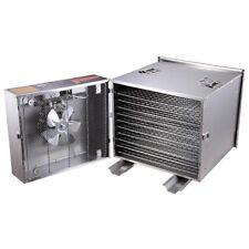 Stainless Steel 1200W 10 Tray Food Dehydrator Fruit Dryer Jerky Maker Commercial