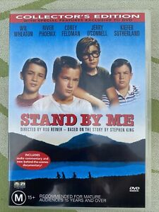 Stand By Me DVD Movie. Free Postage. Collector's Edition. Rated M