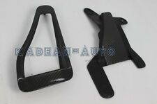 CARBON FIBER 2PCS OEM HOOD SCOOP VENT FOR MITSUBISHI EVOLUTION EVO 7