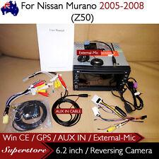 "6.2"" CAR DVD GPS Player Head Unit Stereo Navi For Nissan Murano 2005-2008 (Z50)"