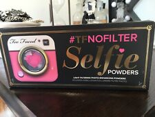 New & Boxed Too Faced Selfie Light Filtering Photo Enhancing Powder Trio 12g