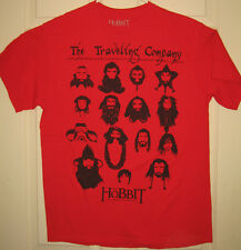 HOBBIT Shirt M/L 2012 Traveling Company Unexpected Journey Beards OOP RARE HTF