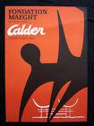 Alexander Calder original 1969 lithograph on poster, Maeght Paris INV1026