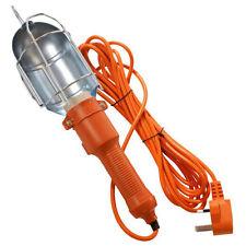 5m MAINS 240V WORK LIGHT LOFT CAR INSPECTION LAMP GARAGE 5 METRE CABLE w/ SWITCH