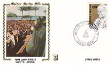 1980 POPE JOHN PAUL II UPPER VOLTA VISIT POSTAL COVER