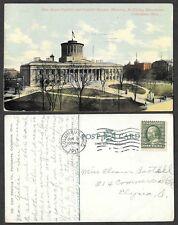 1911 Ohio Postcard - Columbus - State Capitol and Square