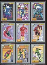 DC COSMIC CARDS 1992 COMPLETE BASE SET #1-180 & HOLOGRAM SET #1-10 NM #ns16-360
