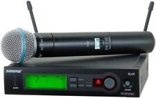 SHURE SLX24/Beta58 Wireless Handheld Mic System - #1 RATED MIC IN THE UNIVERSE!