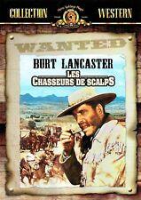 DVD - LES CHASSEURS DE SCALPS - Burt Lancaster