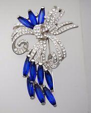 Trifari Crown Large Fur Clip Pin Brooch