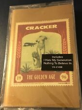 Cracker The Golden Age 1996 US Cassette - I Hate My Generation - NEW, Sealed!