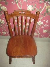 Tell City Tanbark Oak Spindle Back Dining Room Side Chair Made in America
