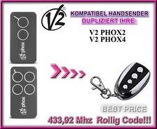 V2 PHOX2-433 / V2 PHOX4-433 kompatibel handsender / klone / Ersatz 433,92Mhz