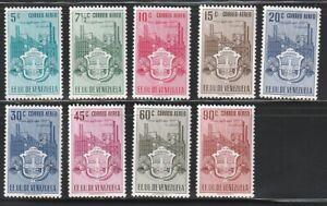 Venezuela   1951   Sc # C338-46   Carabobo   MNH   XF   (55490)