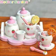 New Mother Garden Strawberry Afternoon Tea Stand Wooden Children Kid Toy